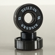 Kingsk8 Super Black Titanium Built-In Longboard Bearings